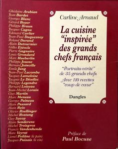 la cuisine inspirée des grands chefs français