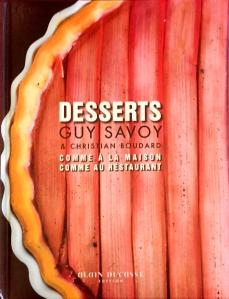 Desserts, Guy Savoy
