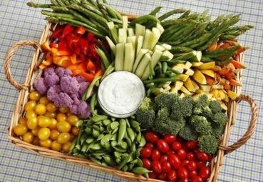 Assortiments de légumes